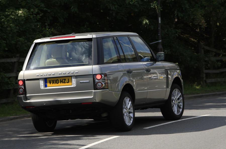 Range Rover 4.4 TDV8 rear
