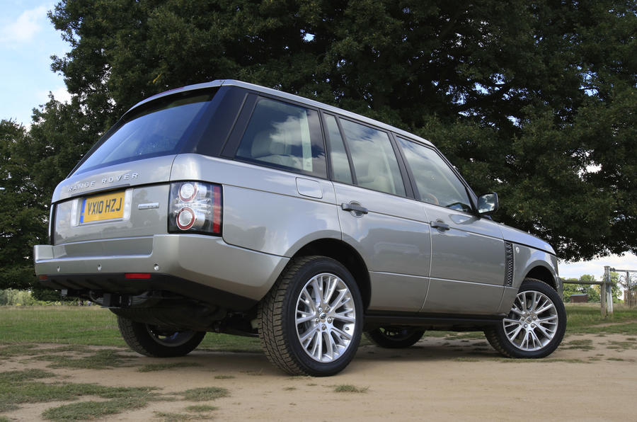 Range Rover rear end