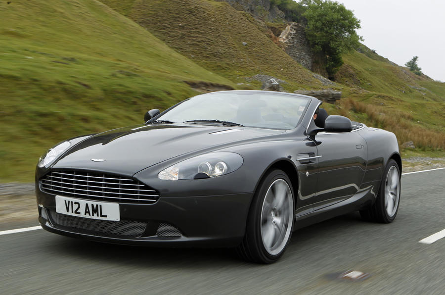 Aston Martin DB Volante Touchtronic Review Autocar - Aston martin db9 convertible