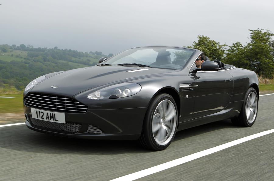 £134,445 Aston Martin DB9 Volante Touchtronic