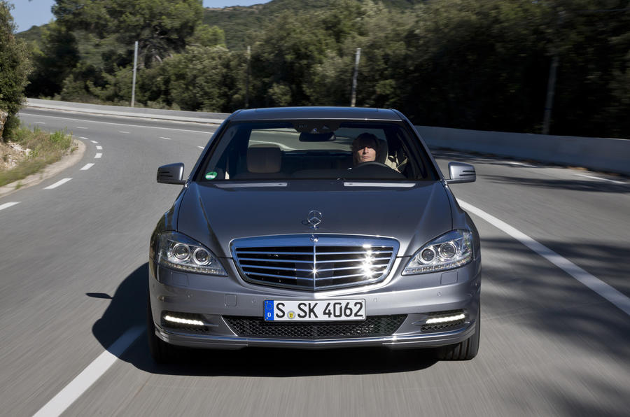 Mercedes-Benz S 350 front end