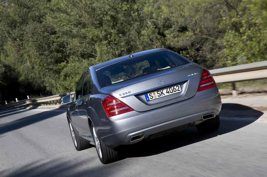 Mercedes-Benz S 350 rear end