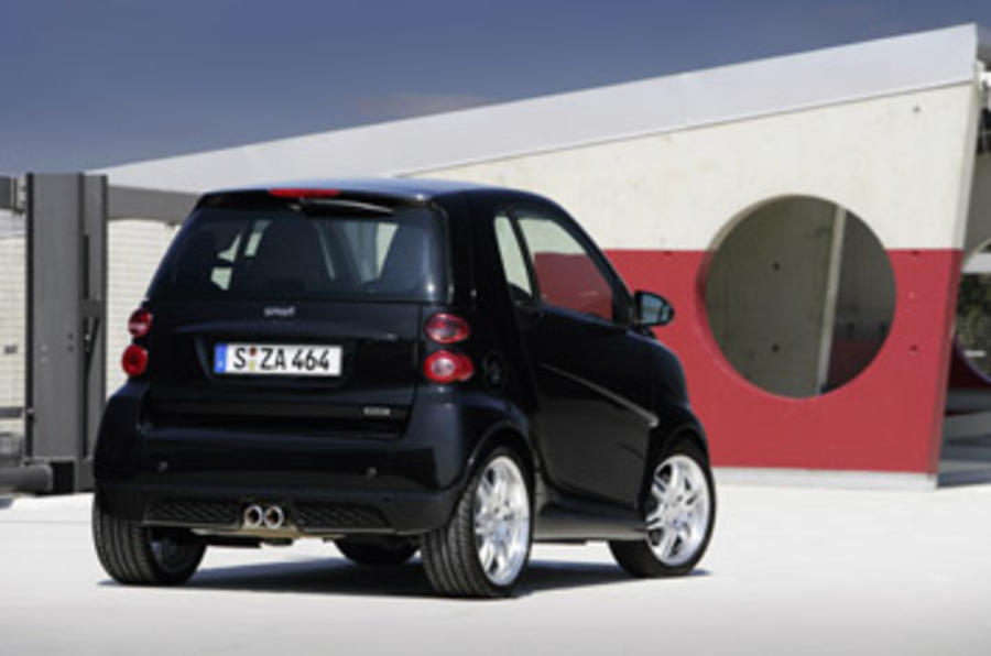 Smart Fortwo Brabus rear end