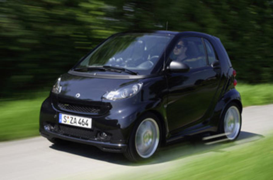 smart fortwo brabus review autocar. Black Bedroom Furniture Sets. Home Design Ideas