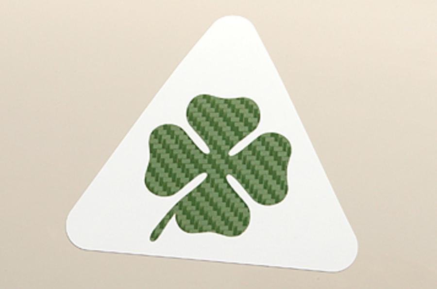 Alfa Romeo Mito Cloverleaf badge