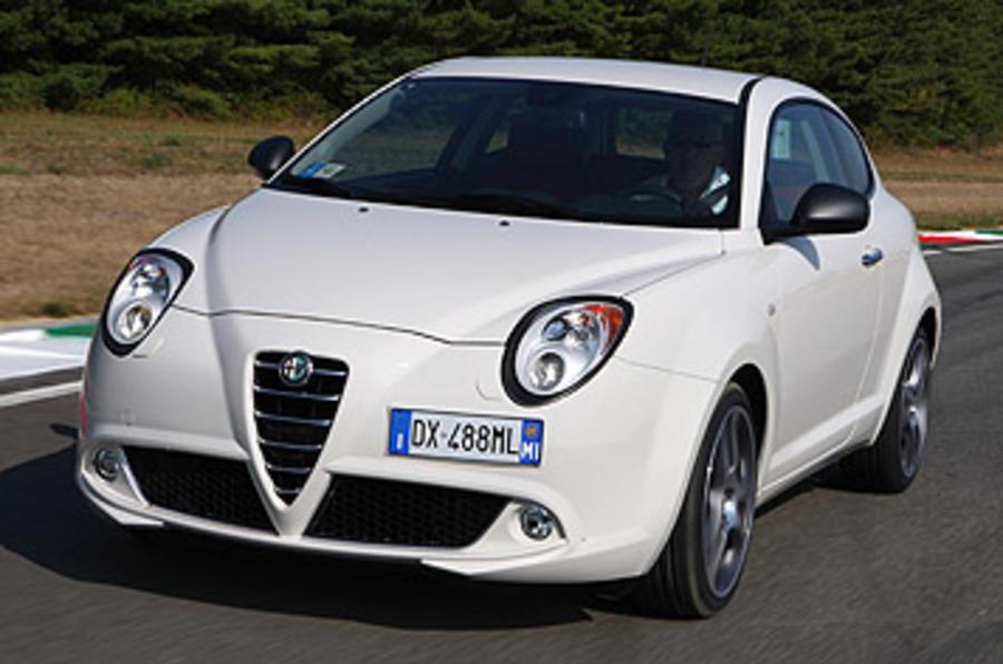 Alfa Romeo Mito Cloverleaf front quarter