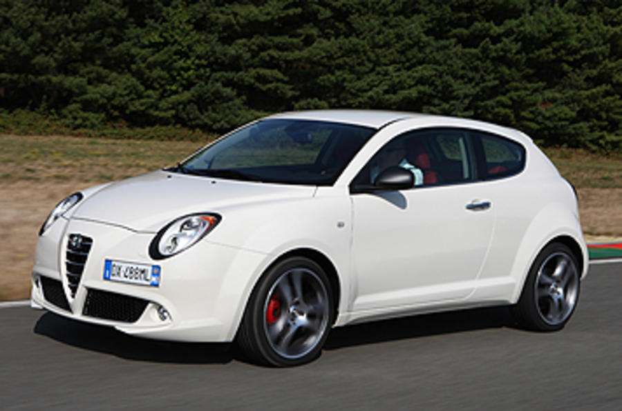 Alfa Romeo Mito Cloverleaf side profile