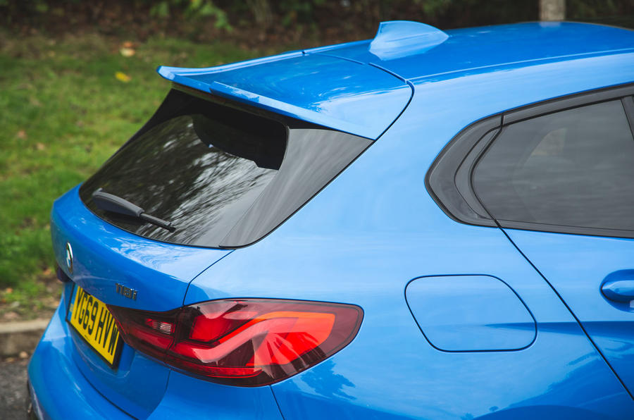 BMW 1 Series 118i 2019 road test review - spoiler