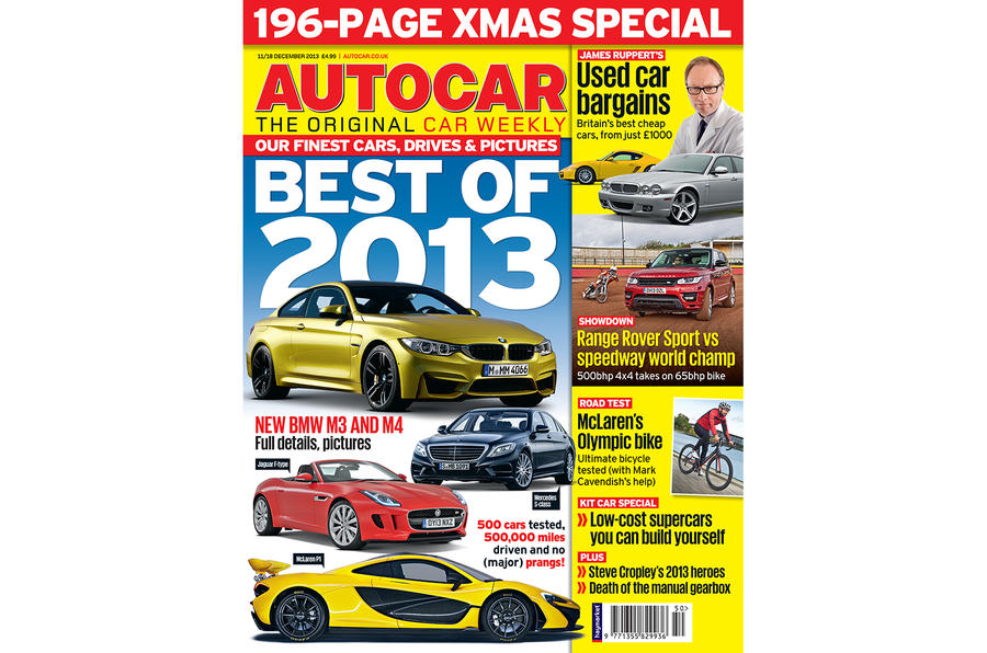Autocar magazine 11 December Christmas double issue preview