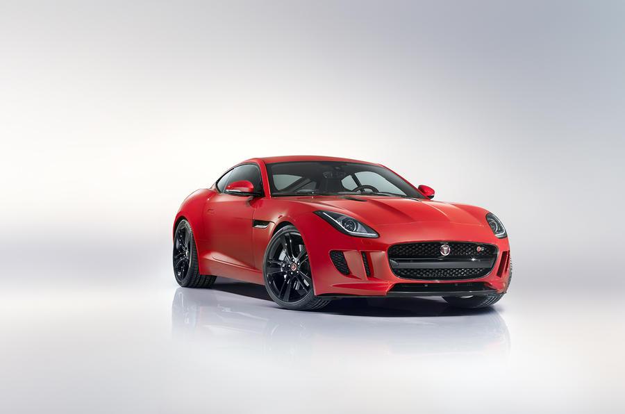 Jaguar F Type Coupe Revealed