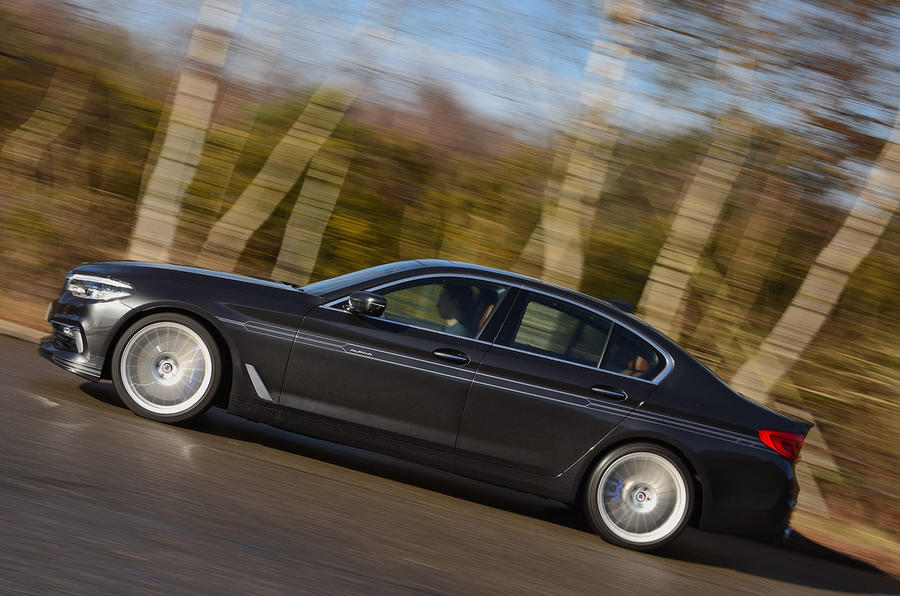 Alpina D5 S review on the road side