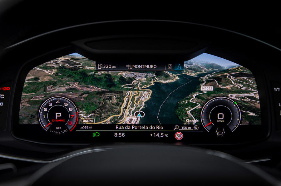 Audi A6 2019 road test review - virtual cockpit