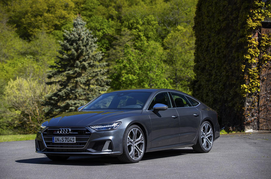 Audi S7 Sportback TDI 2020 road test review - static front