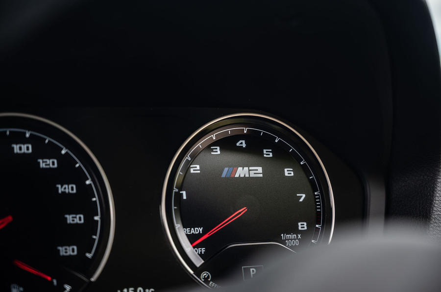BMW M2 CS 2020 road test review - instruments