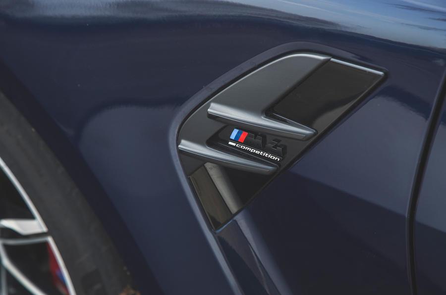 11 BMW M4 Competition 2021 RT autocollants latéraux