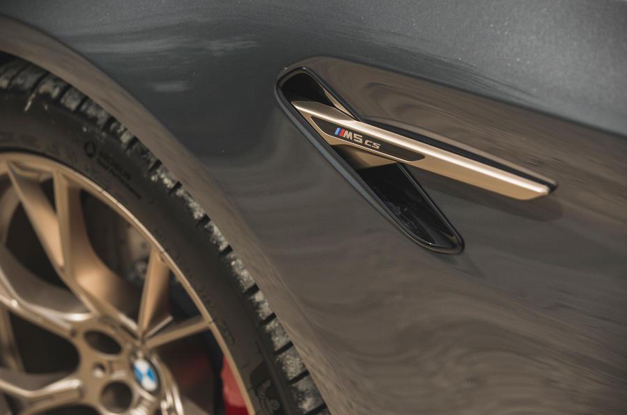 11 BMW M5 CS 2021 RT autocollants latéraux
