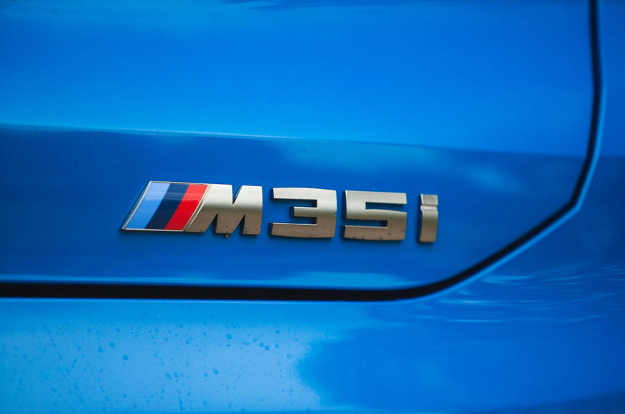 BMW X2 M35i 2019 road test review - M badge