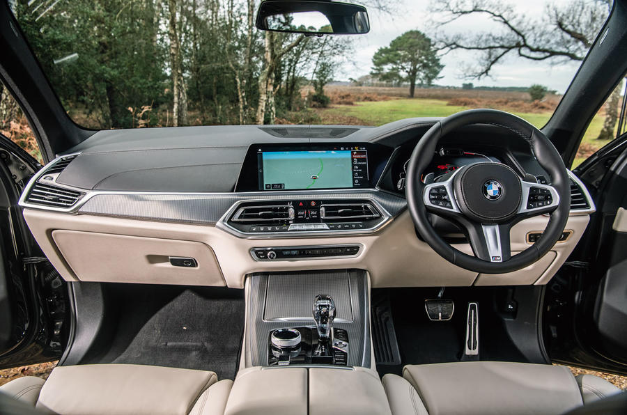 BMW X5 2018 road test review - dashboard