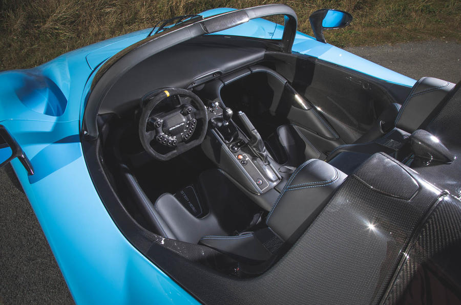 Dallara Stradale 2019 road test review - cabin