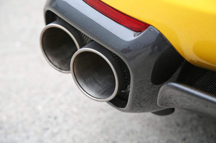Ferrari 812 Superfast 2018 road test review exhaust