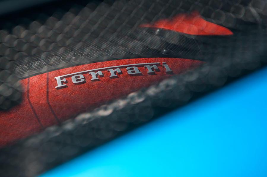 Ferrari F8 Tributo 2019 road test review - engine