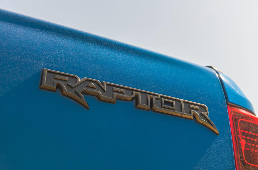Ford Ranger Raptor 2019 road test review - rear badge