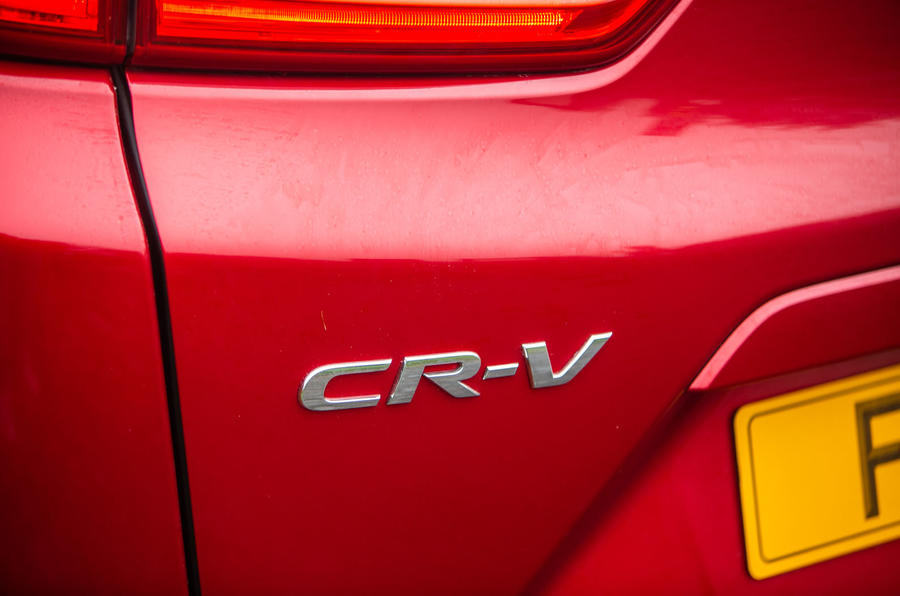 Honda CR-V 2018 road test review - rear badge