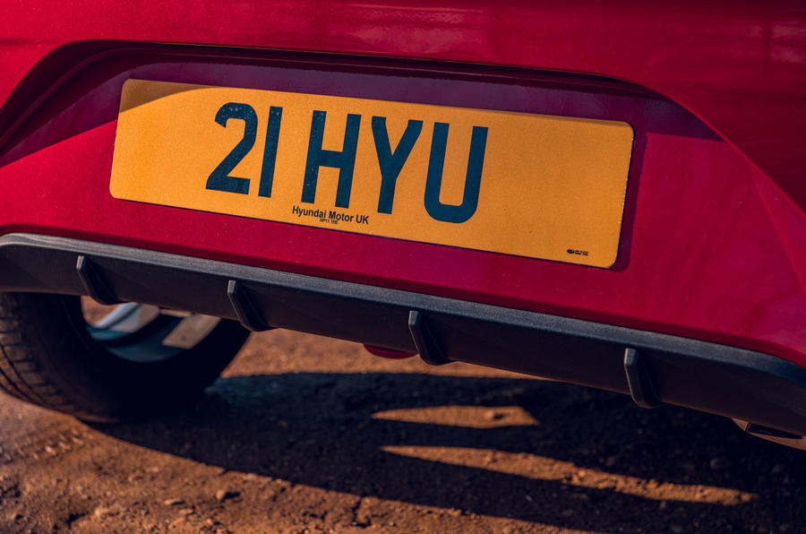 Hyundai i10 2020 road test review - rear diffuser