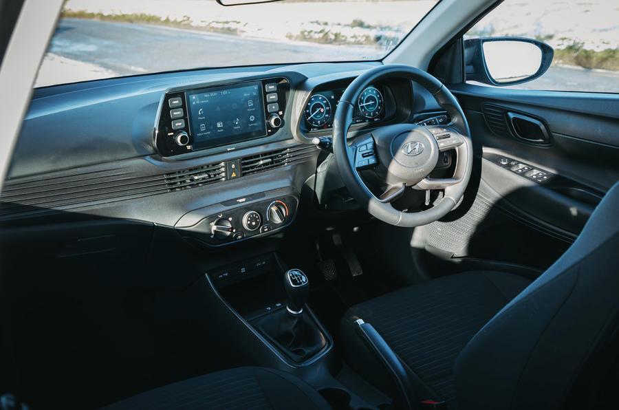 11 Hyundai i20 2021 : tableau de bord de l'examen de l'essai routier