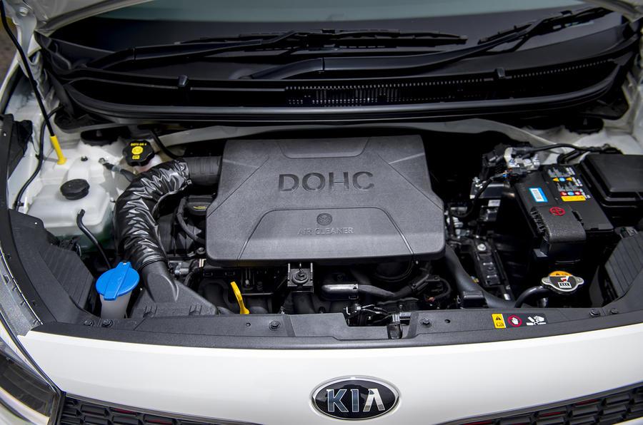 Kia Picanto review engine