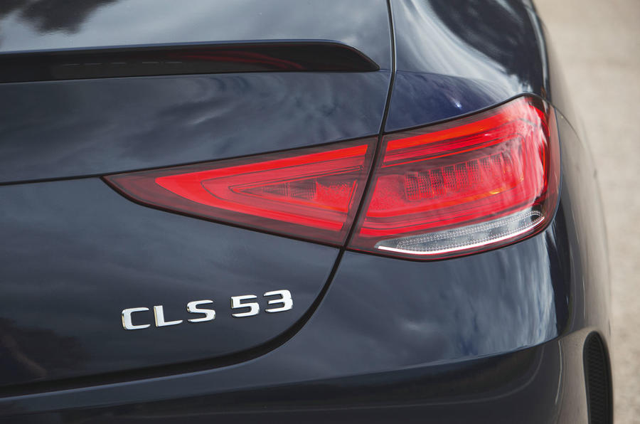Mercedes-AMG CLS 53 2018 road test review - brake lights