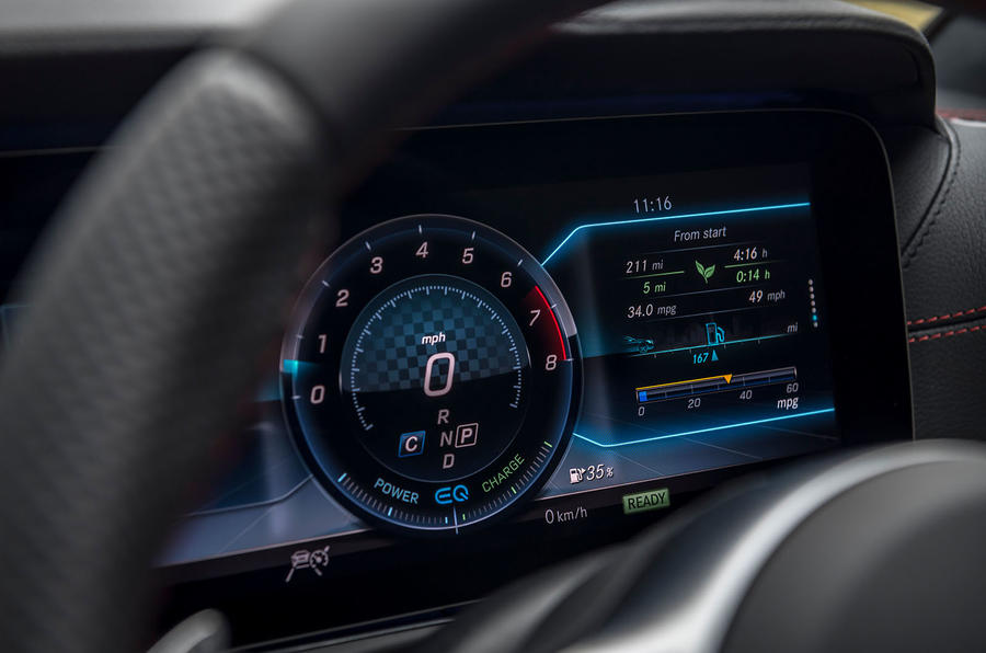 Mercedes-AMG E53 2018 review - instrument cluster