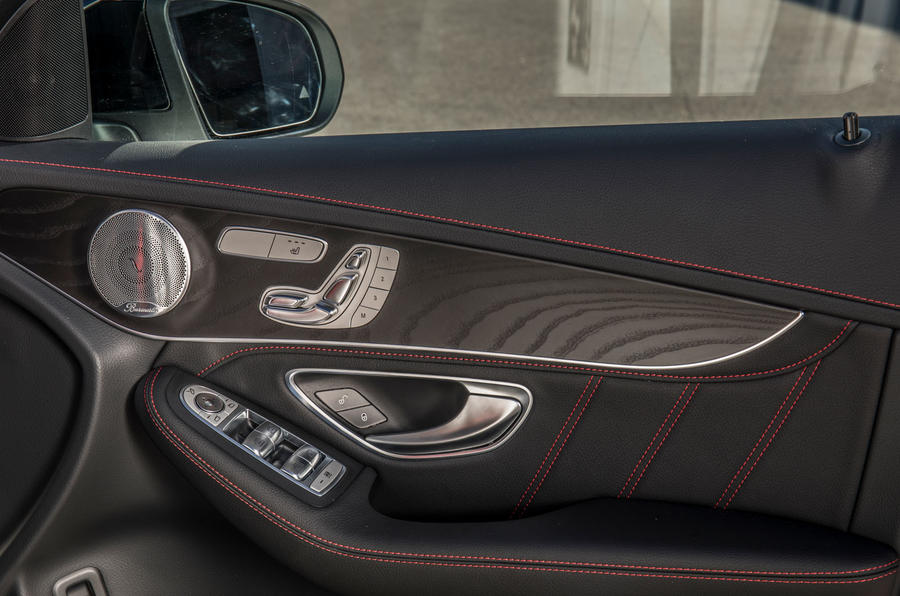 Mercedes-AMG GLC 43 road test review - door cards