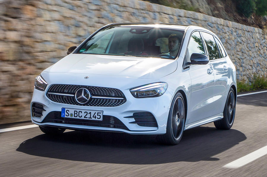 Mercedes-Benz B-Class review - on the road front