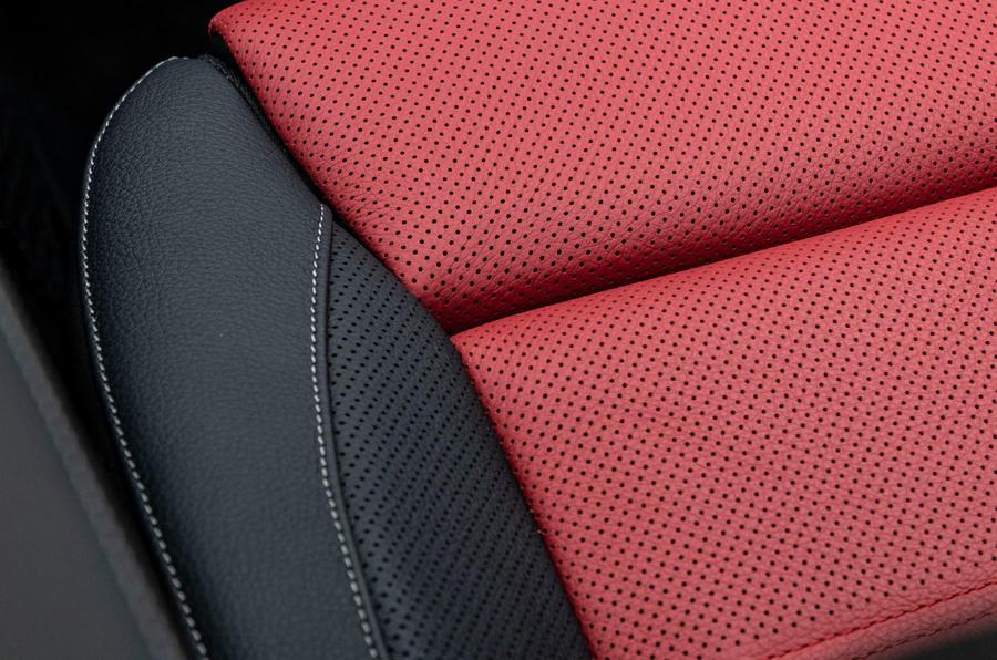 Mercedes-Benz GLA 2020 road test review - seat details