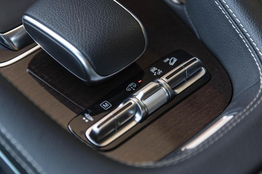 Mercedes-Benz GLE 2018 review - suspension modes