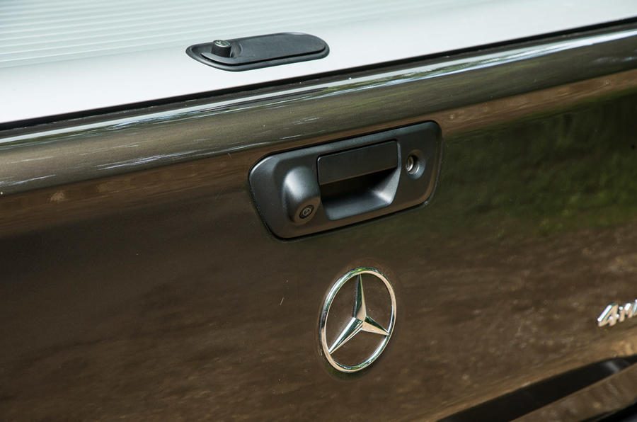 Mercedes-Benz X-Class road test review flatbed handle