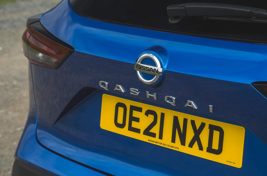 11 Badge de coffre Nissan Qashqai 2021 RT