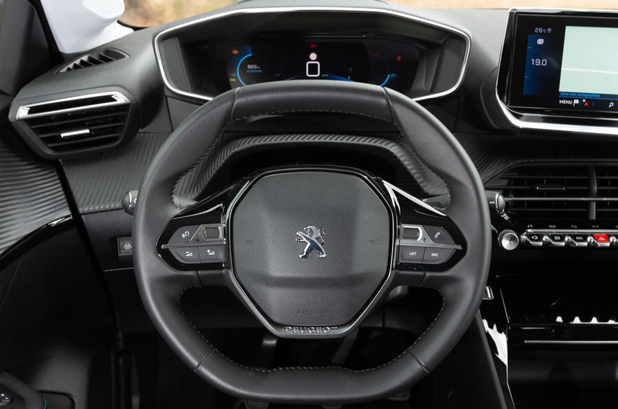 Peugeot 208 2020 road test review - dashboard