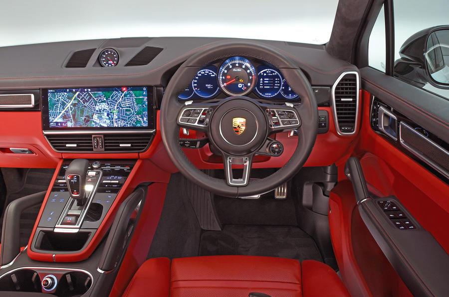 Porsche Cayenne Interior Autocar