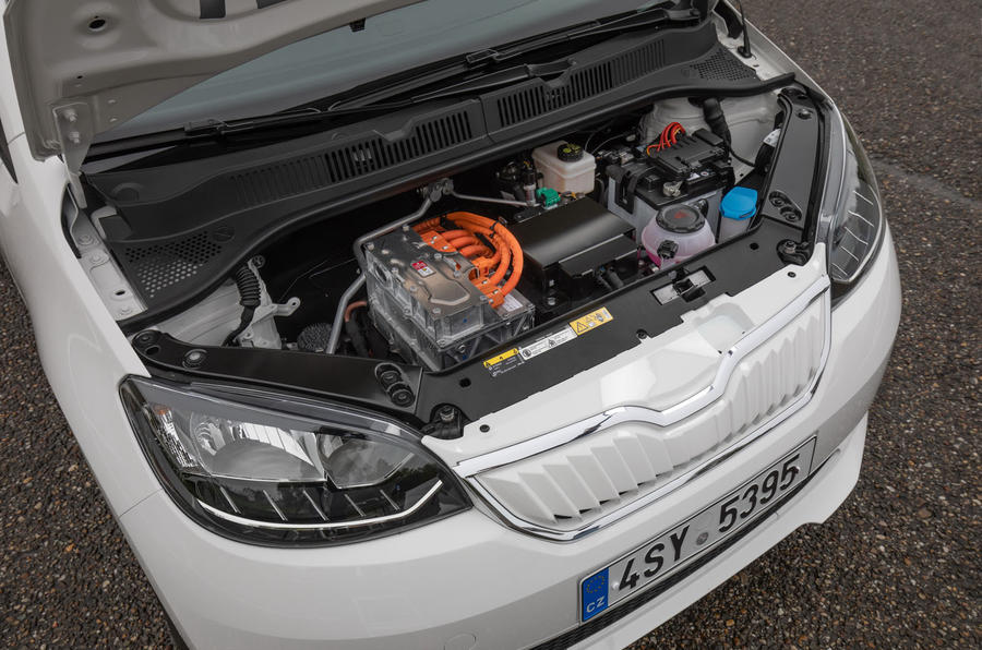 SKoda Citigo-e IV 2020 road test review - electric motor