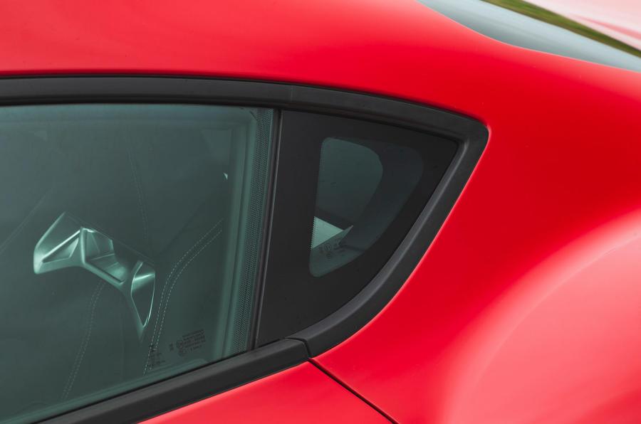 Toyota GR Supra 2019 road test review - b pillar