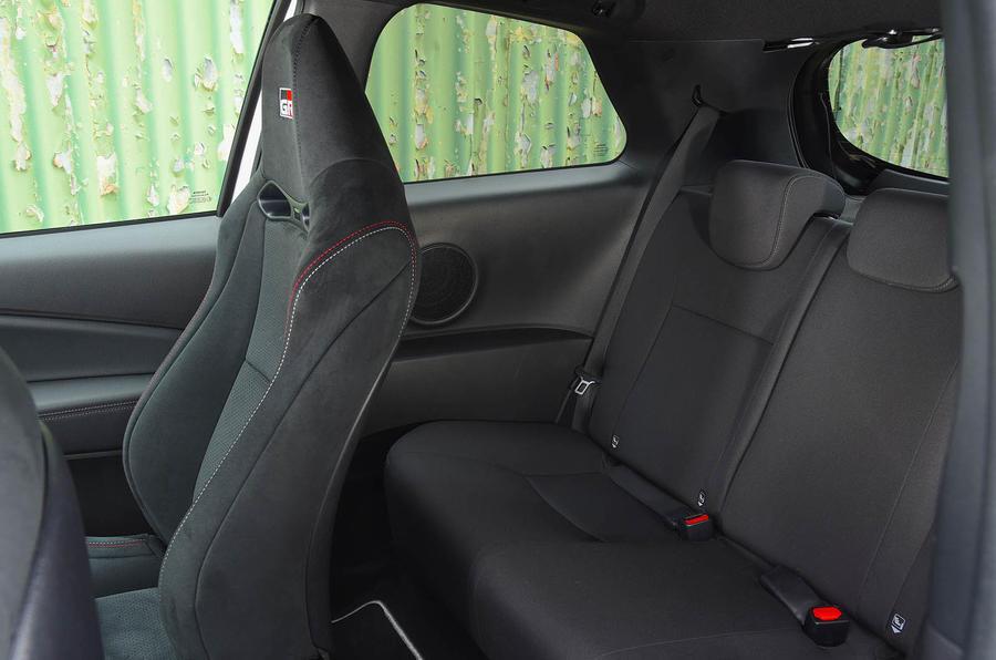 Toyota Yaris GRMN rear seats