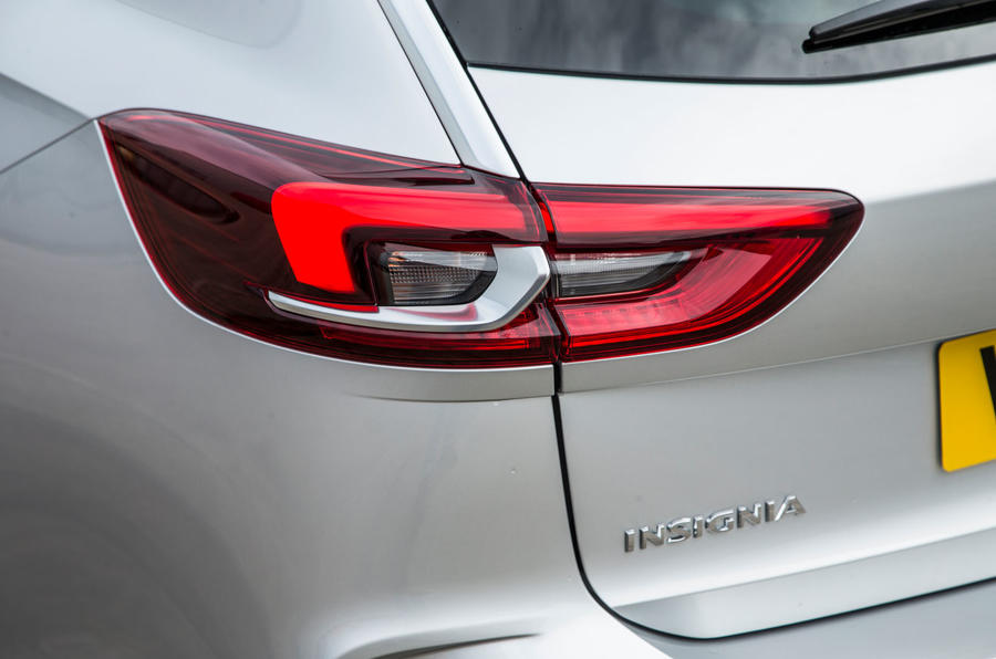Vauxhall Insignia Sports Tourer GSI review rear lights