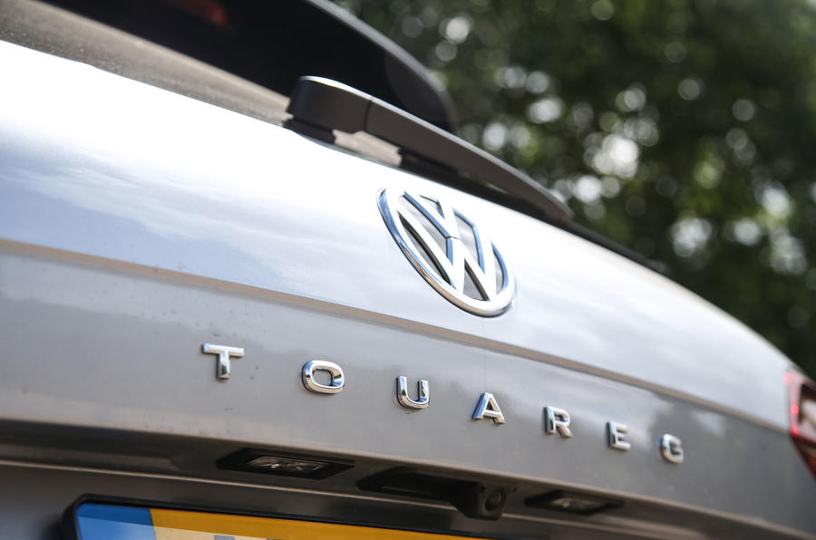 Volkswagen Touareg 2018 road test review rear badge