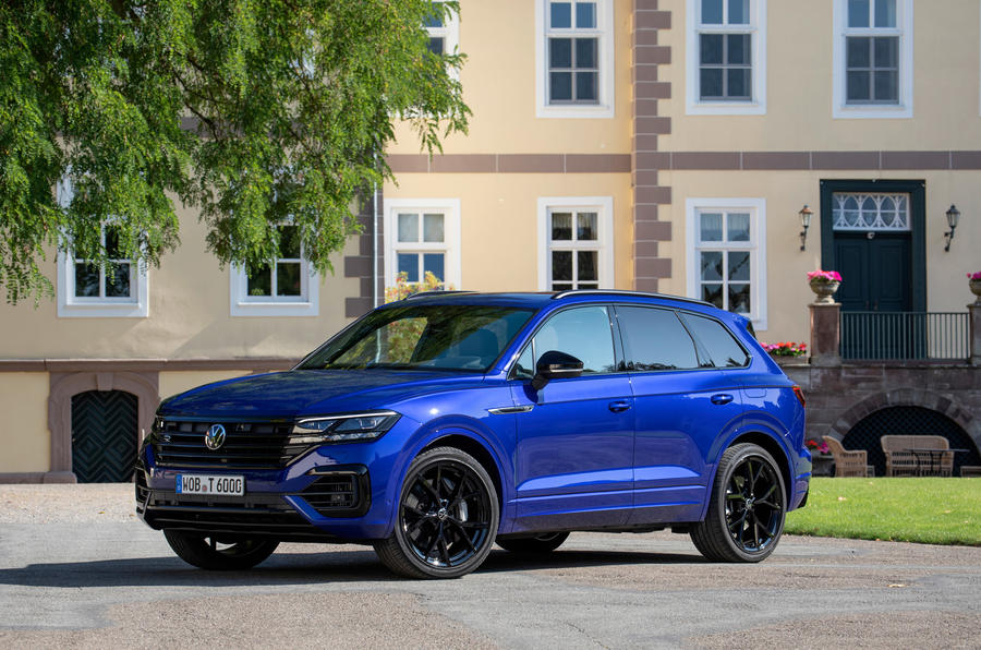 Volkswagen Touareg R road test review - static front