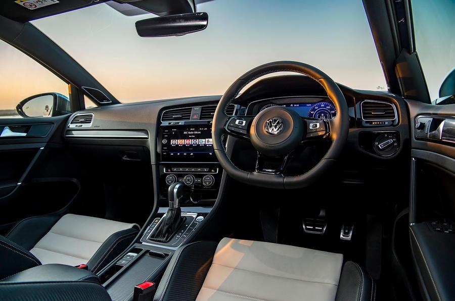 Volkswagen Golf R 2019 road test review - dashboard