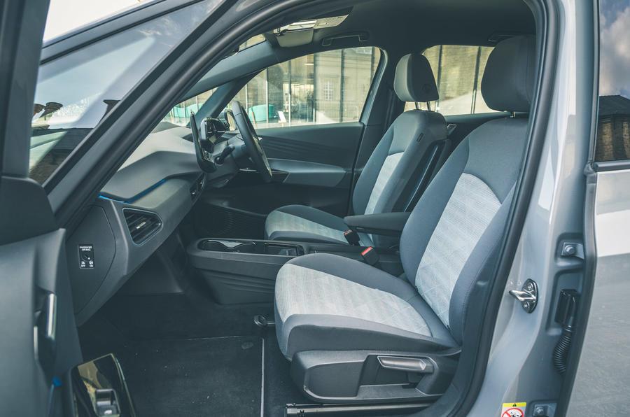 11 VW ID 3 2021 essai routier sièges avant