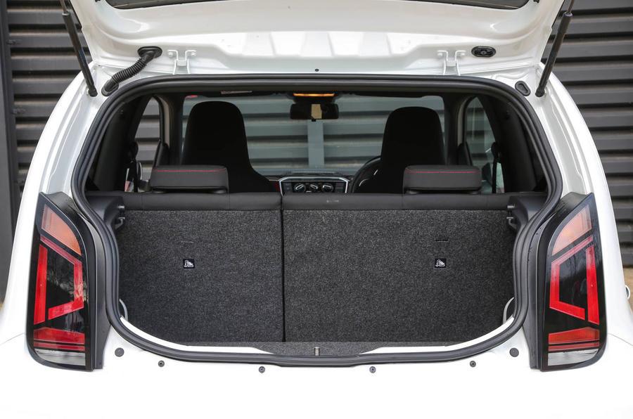 Volkswagen Up GTI 2018 review boot