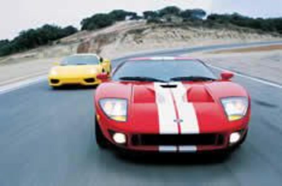 Ford GT makes Ferrari second best